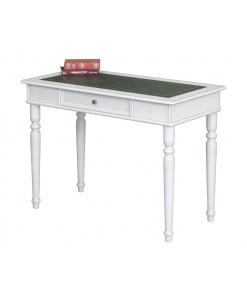 Schreibtisch mit Lederplatte, Schreibtisch