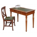 Büro-Set, Stuhl Kunstleder, Schreibtisch