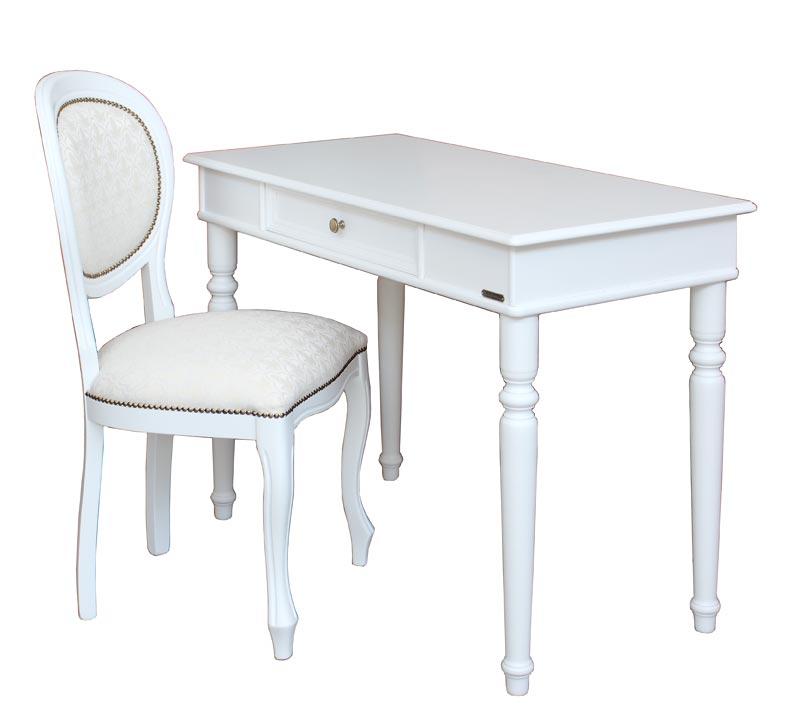 schreibtisch mit stuhl wei frank m bel. Black Bedroom Furniture Sets. Home Design Ideas