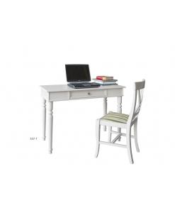 Schreibtisch und Stuhl aus Holz