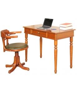 Schreibtisch und Drehstuhl, Büro-Set