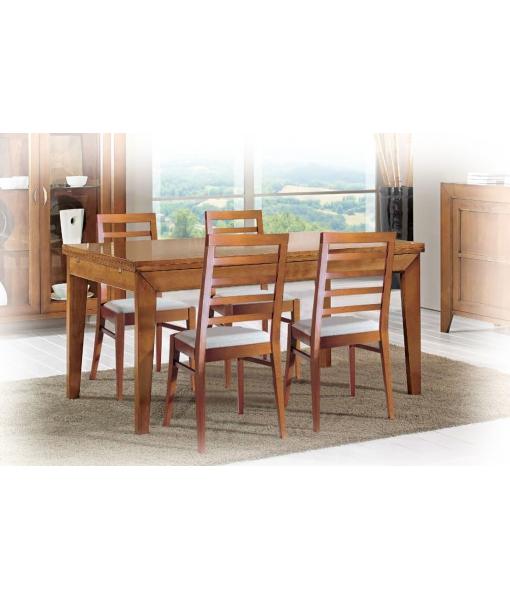 tisch zum ausziehen rechteckig 160 240 cm frank m bel. Black Bedroom Furniture Sets. Home Design Ideas
