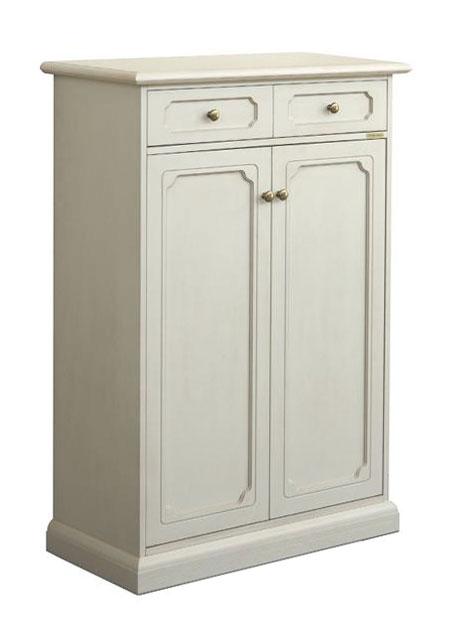 schuhschrank mit t ren lackiert tilly frank m bel. Black Bedroom Furniture Sets. Home Design Ideas