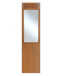 Holzpaneel mit Spiegel, Spiegel Flur