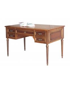 Schreibtisch Louis XVI, Schreibtisch Holzplatte