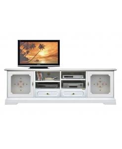 TV-Lowboard mit Dekor, TV-Lowboard