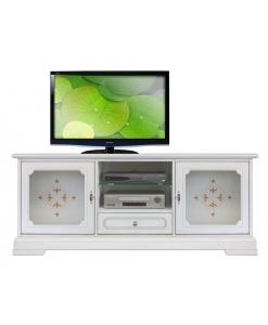 TV-Lowboard Glasdekor, TV-Lowboard