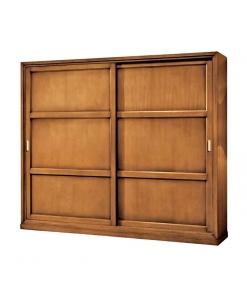 Schrank mit Schiebetüren, Schrank 2 Türen