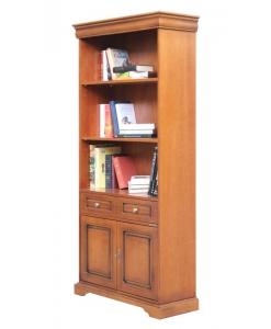 Bücherregal 2 Türen, Bücherregal Louis Philippe