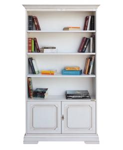 Bücherregal 2 Schranktüren, Bücherregal