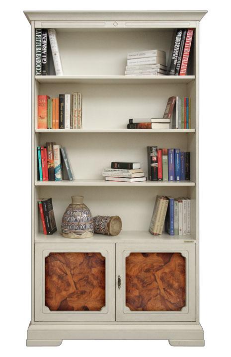 b cherregal mit wurzelholz ebay. Black Bedroom Furniture Sets. Home Design Ideas