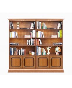 Regalwand Braun, Bücherschrank