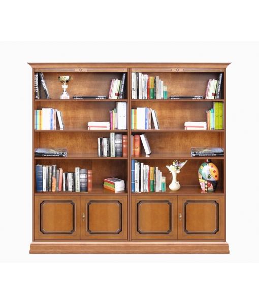 Regalwand Braun, Bücherschrank, Art.-Nr. 202