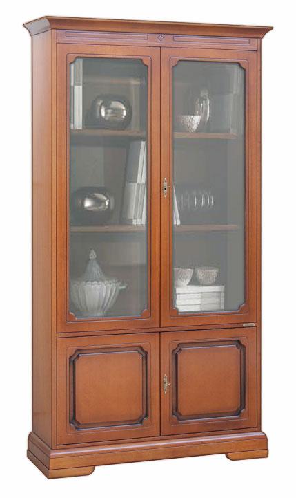 regalwand 4 t ren klassisch ebay. Black Bedroom Furniture Sets. Home Design Ideas