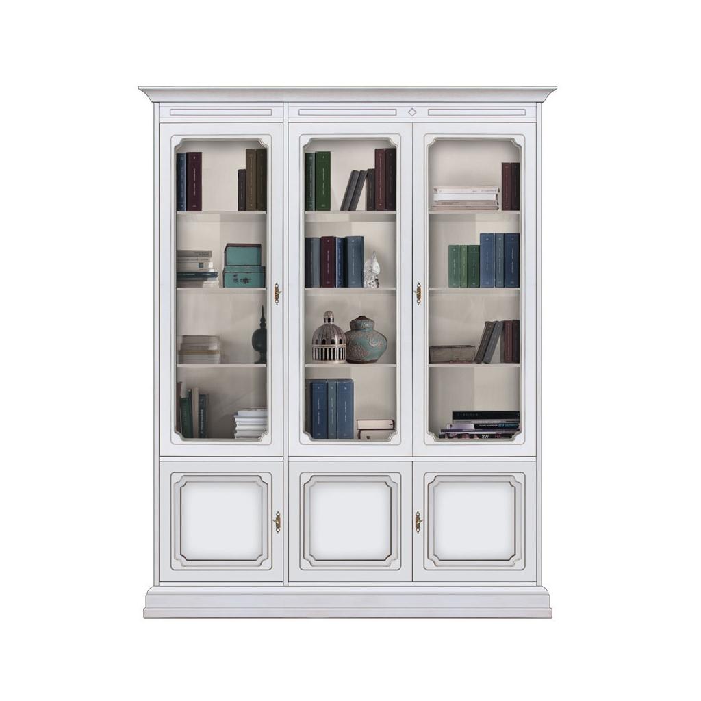 Regalwand Glastüren, REgalwand, Glasvitrine, Vitrine mit Türen