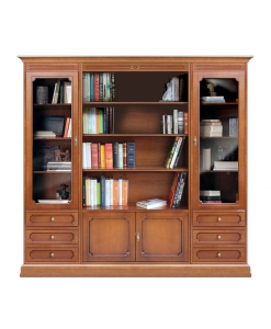 Bücher-Wohnwand, Wohnwand