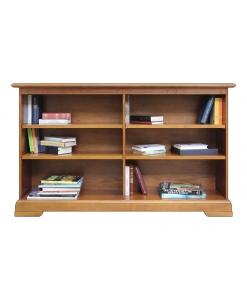 Niedriges Bücherregal Holz
