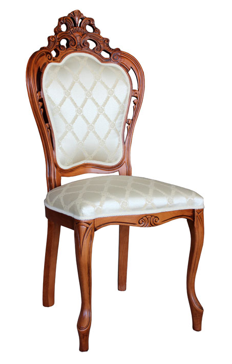 Stuhl schnitzarbeit klassischer stil ebay for Klassischer stil