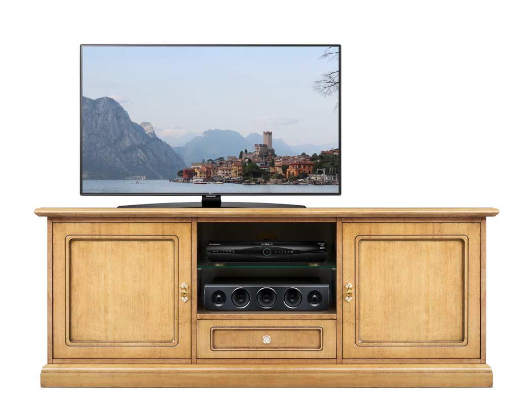 tv lowboard lackiert 2 schrankt ren 150 cm neu made in italy 100 ebay. Black Bedroom Furniture Sets. Home Design Ideas