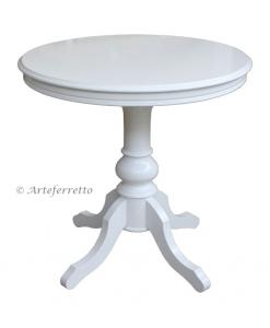 Runder Tisch weiß, Runder Tisch 80 cm