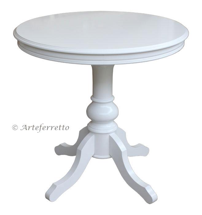 Small modern round table - Runder Tisch 80 Cm Durchmesser Frank M 246 Bel