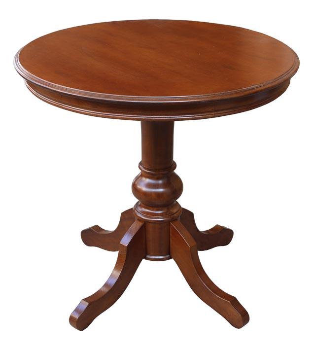 tisch rund 80 cm massiv holz neu made in italy 8052740975331 ebay. Black Bedroom Furniture Sets. Home Design Ideas