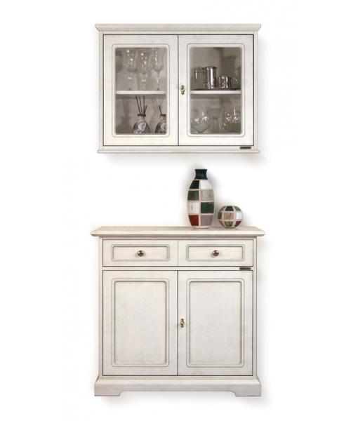 anrichte mit aufsatz breit 1 m frank m bel. Black Bedroom Furniture Sets. Home Design Ideas