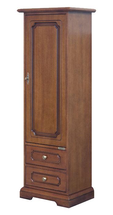 kleiner schrank 1 t r 2 schublade frank m bel. Black Bedroom Furniture Sets. Home Design Ideas