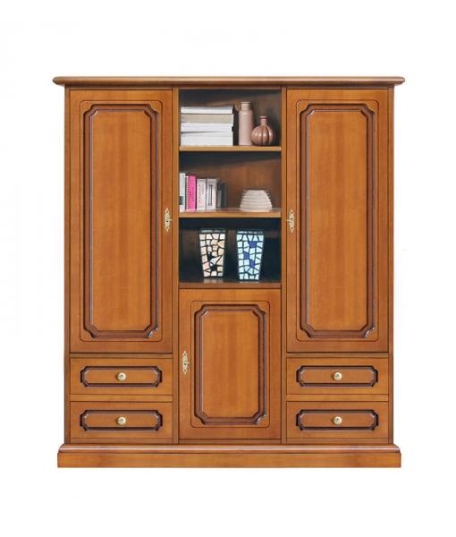 Highboard klassisch mit Türen und Schubladen, Art.-Nr. 3037-L