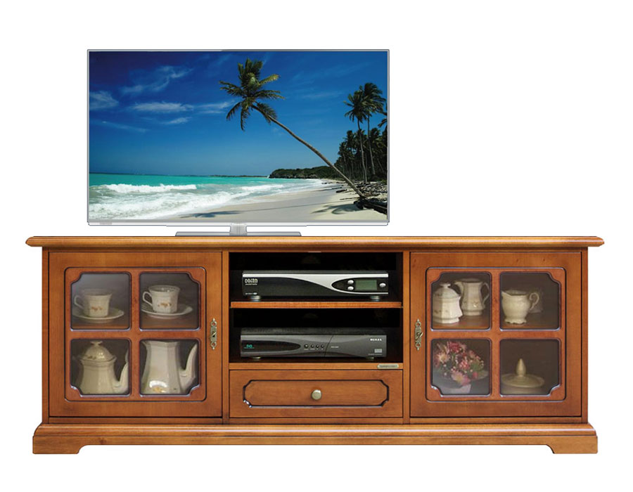 tv lowboard glast ren 150 cm ebay. Black Bedroom Furniture Sets. Home Design Ideas