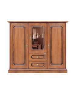 Highboard, Highboard aus Holz