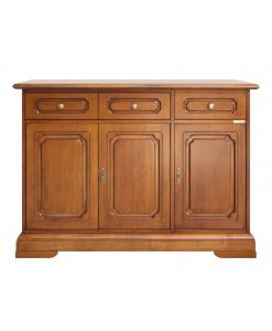 Anrichte 3 Türen, Anrichte aus Holz