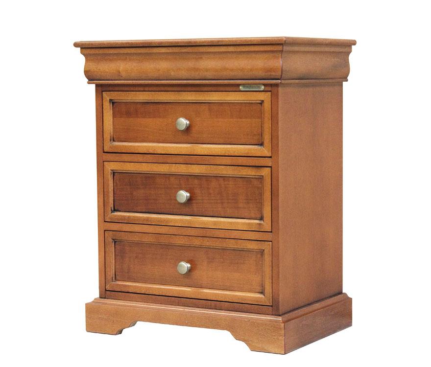 kleine kommode louis philippe 4 schubladen ebay. Black Bedroom Furniture Sets. Home Design Ideas