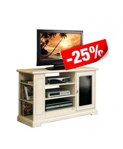 TV-Möbel schwarz und weiß