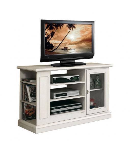 TV-Möbel mit Glastür - Klassischer Stil 3654-AV