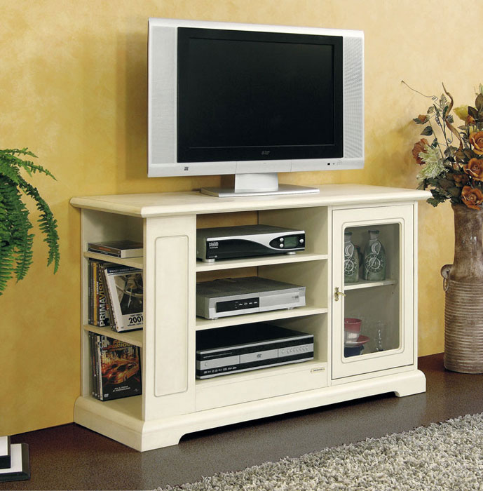 tv m bel mit glast r klassischer stil frank m bel. Black Bedroom Furniture Sets. Home Design Ideas