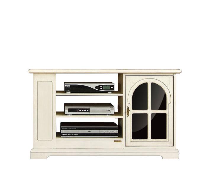 tv rack wei und schwarz mit glas frank m bel. Black Bedroom Furniture Sets. Home Design Ideas