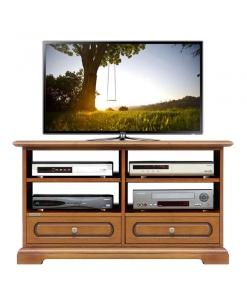 TV-Rack 2 Schubkästen, TV-Rack 2 bewegliche Einlegeböden