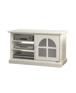 kleines TV-Möbel mit Glastür