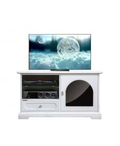 Porta tv con anta e cassetto finitura Reflex