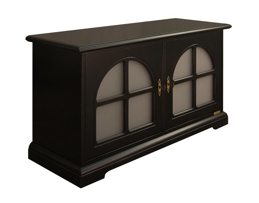niedrige schwarze anrichte aus klassischem stil frank m bel. Black Bedroom Furniture Sets. Home Design Ideas