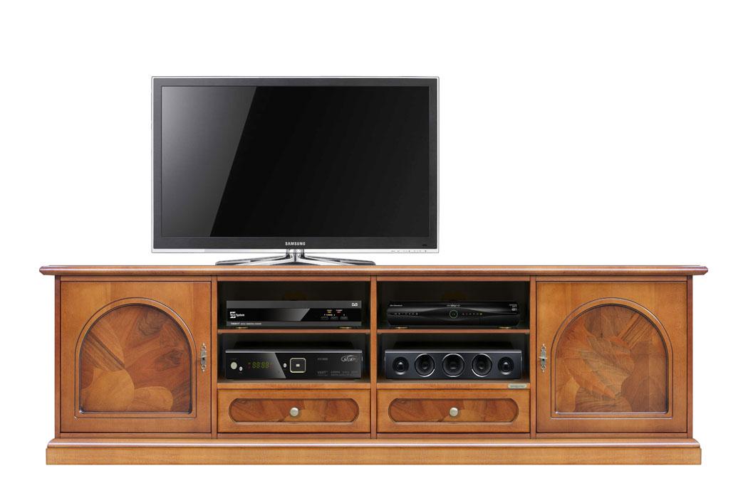 lowboard mit wurzelholz 2 m frank m bel. Black Bedroom Furniture Sets. Home Design Ideas