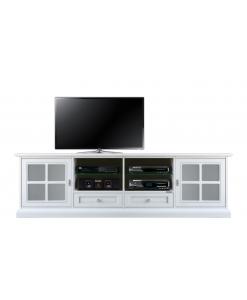 TV-Lowboard mit Glastüren, TV-Lowboard