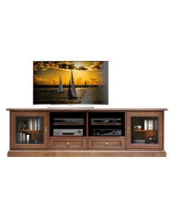 TV-Lowboard 2 meter Kirschholz
