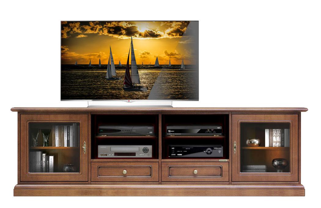 tv lowboard 2 meter kirschholz frank m bel. Black Bedroom Furniture Sets. Home Design Ideas