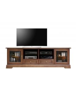 TV-Lowboard Kirschholz, TV-Lowboard 2 m