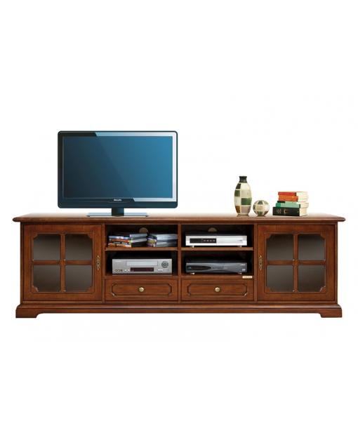 lowboard tv mit schubladen frank m bel. Black Bedroom Furniture Sets. Home Design Ideas