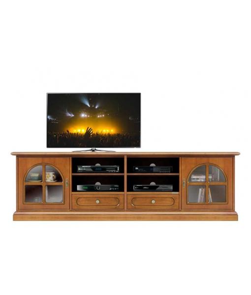 TV-Lowboard 2 m aus Holz 4010-TG