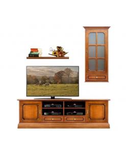 Klassische TV Wohnwand