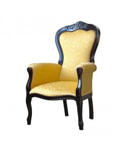 Schwarzer Sessel, Polstersessel schwarz, Polstersessel